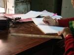 Keeping up with case files, Rajasthan 2010. Julia Kowalski